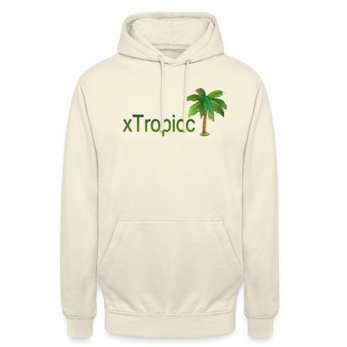 tropicc - Sweat-shirt à capuche unisexe