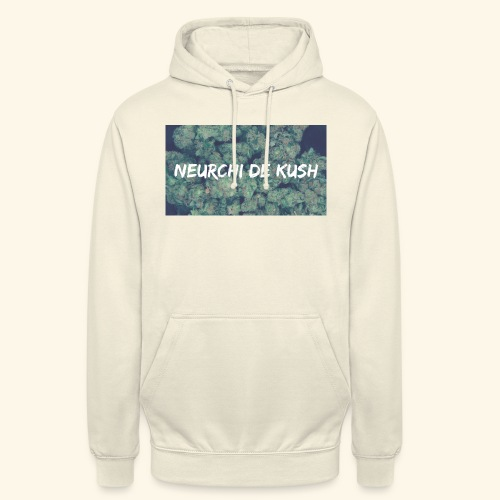 NEURCHI DE KUSH - Sweat-shirt à capuche unisexe