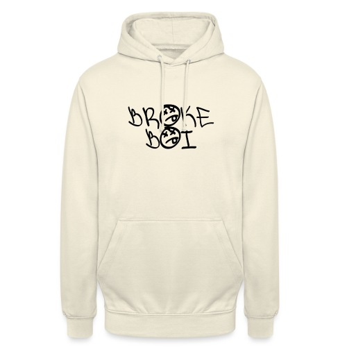 BROKEBOIBOUTIQUE - BLACK - Unisex Hoodie