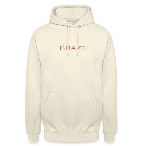 BraZe - Sweat-shirt à capuche unisexe