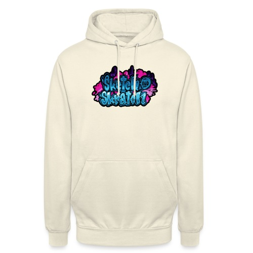 Sketch & Skratch logo hoodie - Hættetrøje unisex
