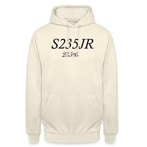 S235JR-Black - Unisex Hoodie