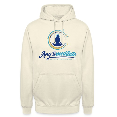 Any timeditate by Pascal Voggenhuber - Unisex Hoodie