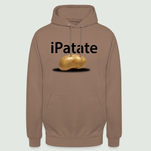 iPatate - Sweat-shirt à capuche unisexe