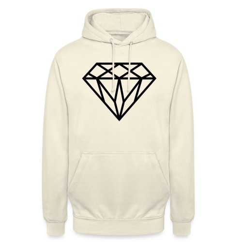 Diamond Graphic // Diamant Grafik - Unisex Hoodie
