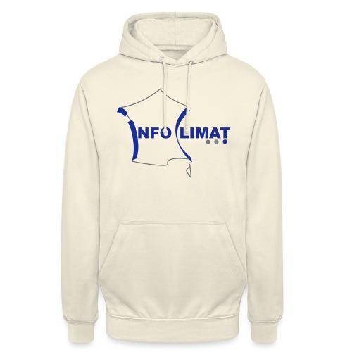logo simplifié - Sweat-shirt à capuche unisexe