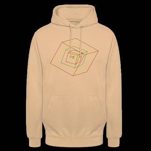 Rasta Cubes - Sweat-shirt à capuche unisexe
