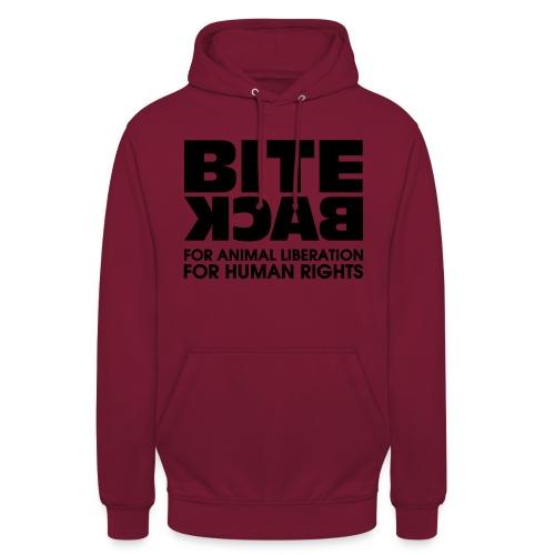 Bite Back logo - Hoodie unisex