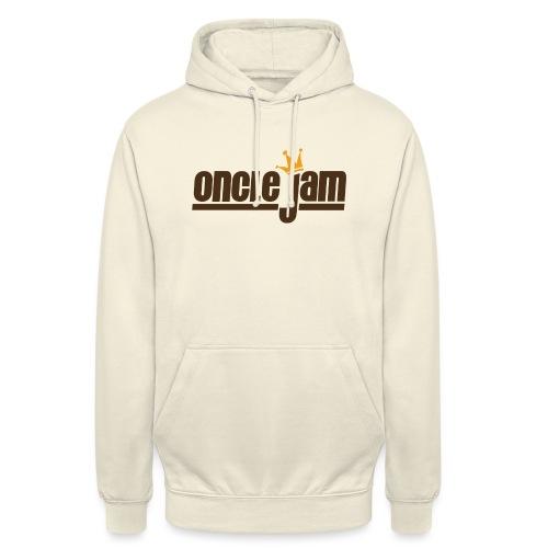 Oncle Jam horizontal brun - Sweat-shirt à capuche unisexe