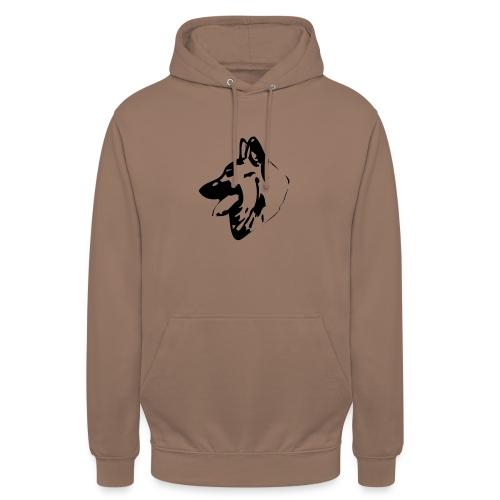Tête Tervueren - Sweat-shirt à capuche unisexe