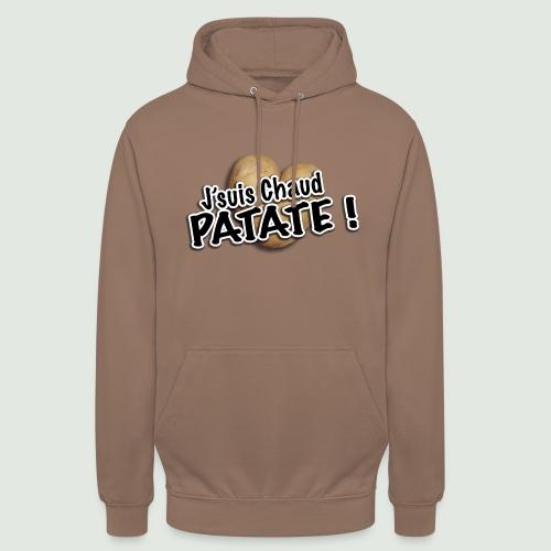 chaud patate - Sweat-shirt à capuche unisexe