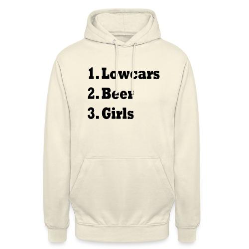 Lowcars Shirt - Hoodie unisex