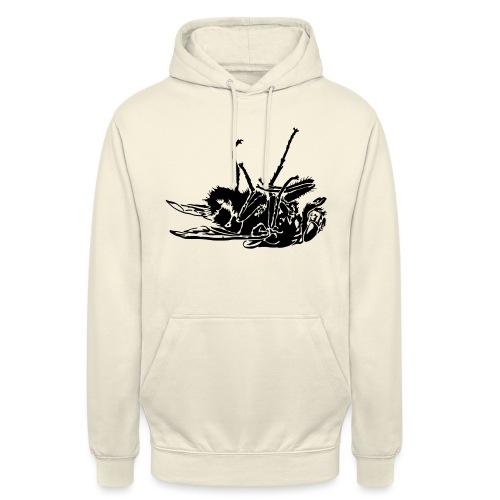 mouche morte - Sweat-shirt à capuche unisexe