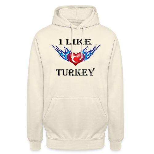 I Like Turkey - Unisex Hoodie