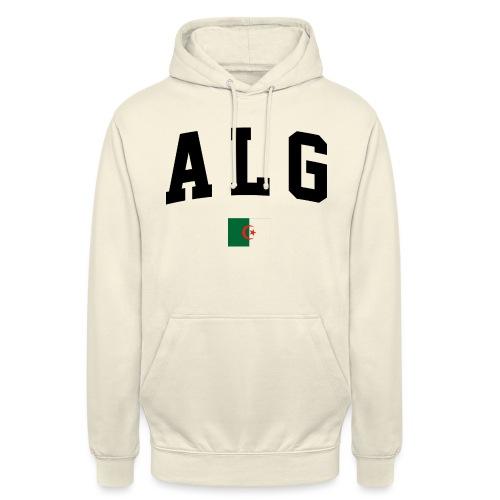 T-shirt Algeria - Sweat-shirt à capuche unisexe