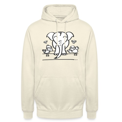 78 elephant - Unisex Hoodie