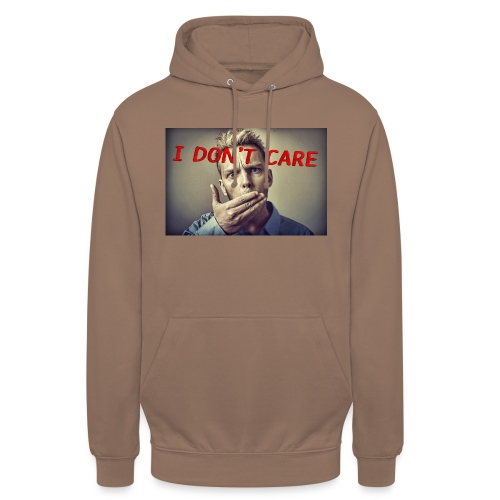 I don't care shirt - Unisex Hoodie
