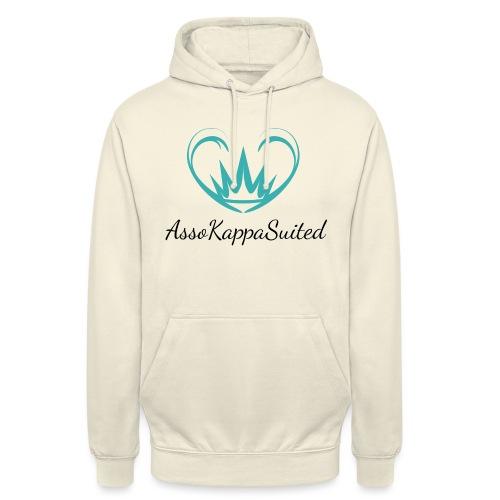 AssoKappaSuited - Felpa con cappuccio unisex
