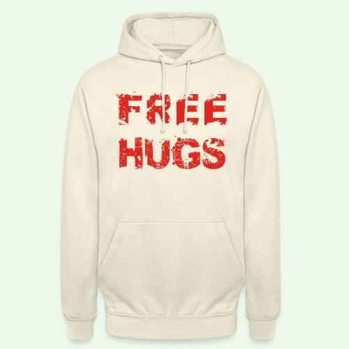 Free Hugs // Flirten // T-Shirt - Unisex Hoodie