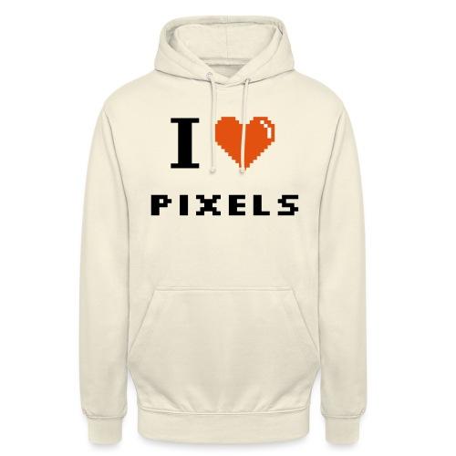 Iheart PIXELS - Unisex Hoodie