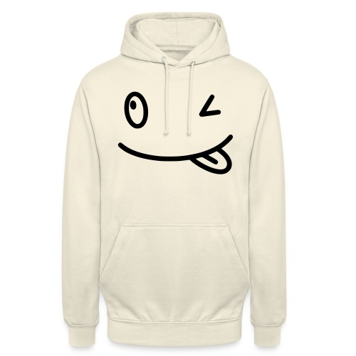 Smiley shirt - Felpa con cappuccio unisex