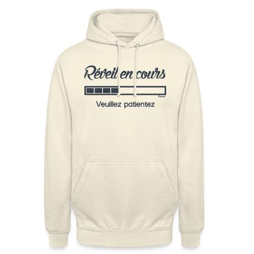 Réveil en cours (H) - Sweat-shirt à capuche unisexe