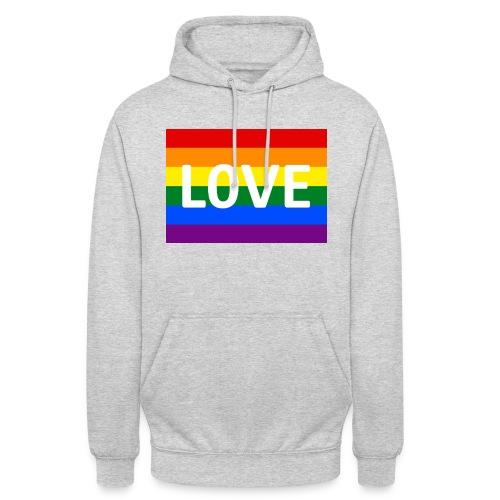 LOVE SHIRT - Hættetrøje unisex