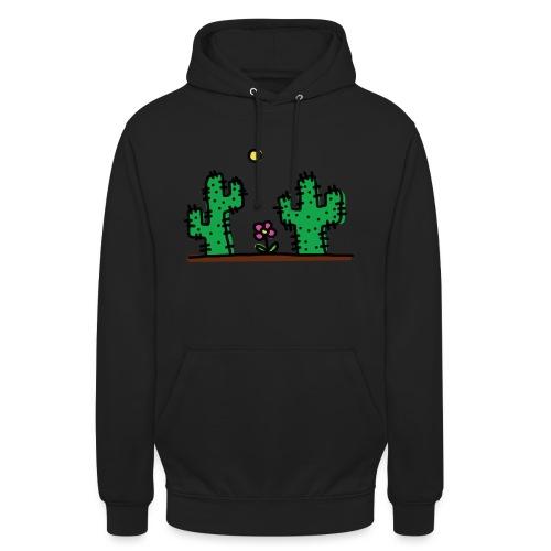Cactus - Felpa con cappuccio unisex