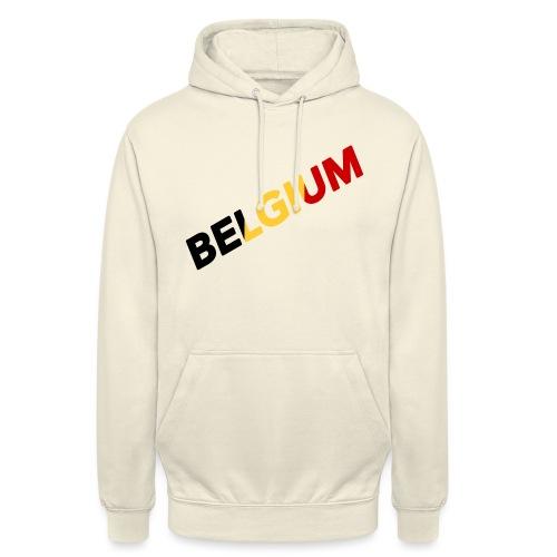BELGIUM - Sweat-shirt à capuche unisexe