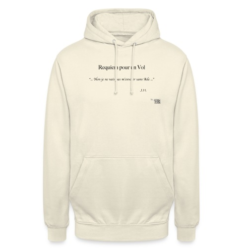 REQUIEM - Sweat-shirt à capuche unisexe