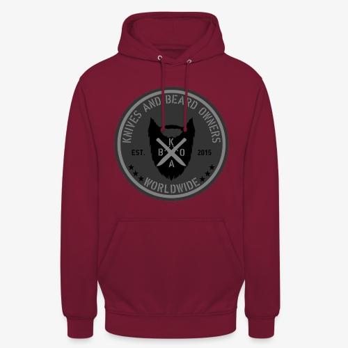 kabo logo grau - Unisex Hoodie