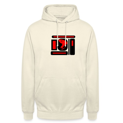 black and red hot P - Unisex Hoodie