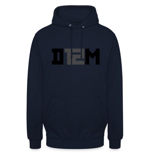 D12M: SHORT BLACK - Hoodie unisex