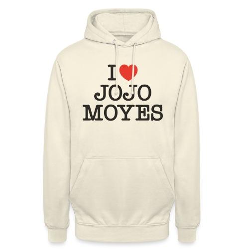 I LOVE JOJO MOYES - Hættetrøje unisex