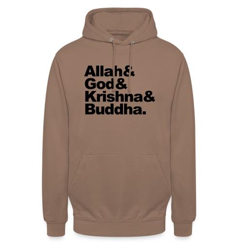 godsdiensten - Hoodie unisex