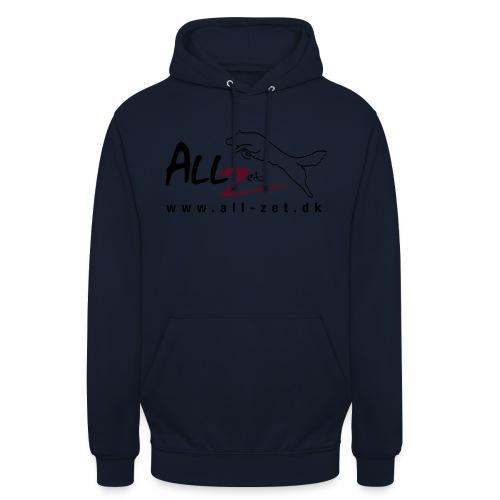 All Zet Logo - Hættetrøje unisex