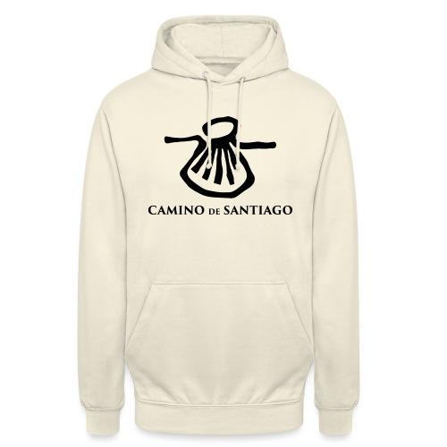 Camino de Santiago - Hættetrøje unisex