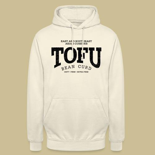 Tofu (black oldstyle) - Unisex Hoodie