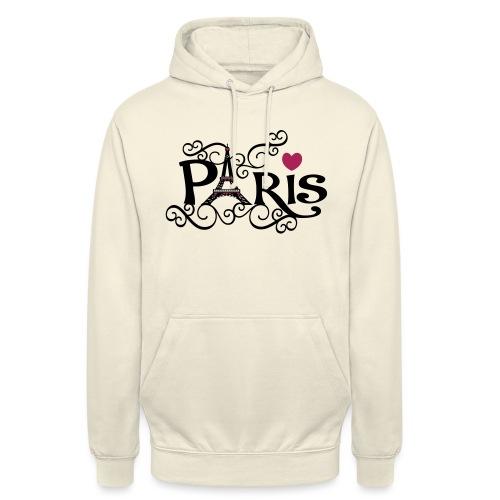 Eifel tower Paris, city of love - Hoodie unisex