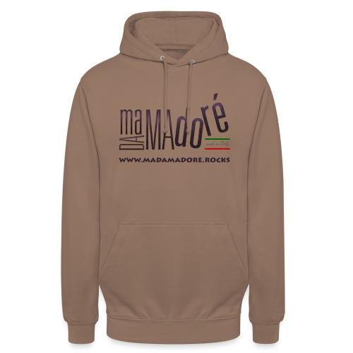 T-Shirt Premium - Donna - Logo Standard + Sito - Felpa con cappuccio unisex
