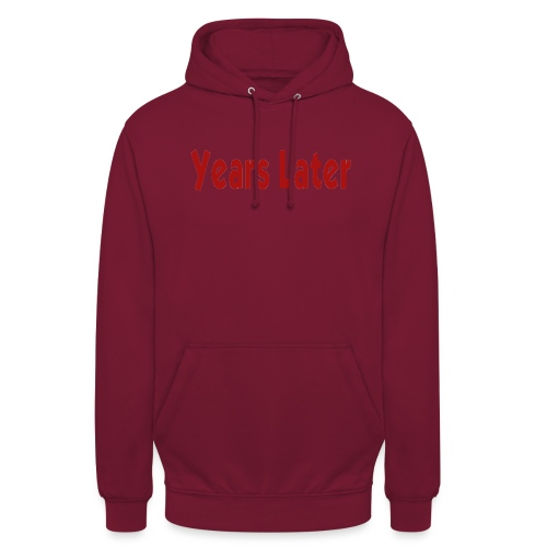 Bandname Years Later rot - Unisex Hoodie