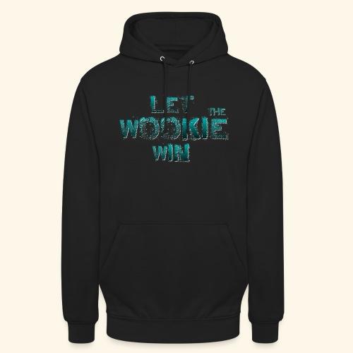 Let The Wookie Win, design 2. - Hættetrøje unisex