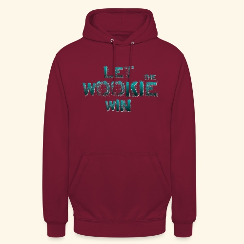 Let The Wookie Win, design 2. - Hættetrøje unisex