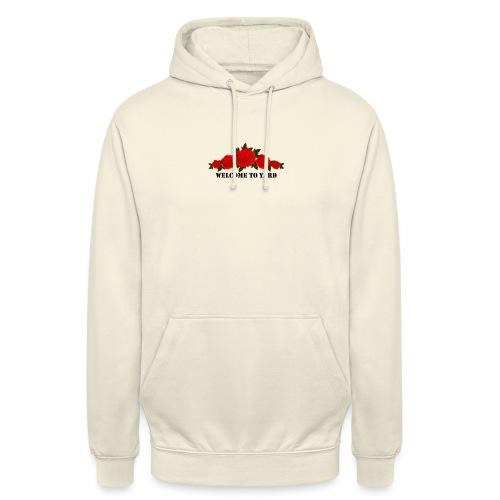 welcome to yard hoodie - Hoodie unisex