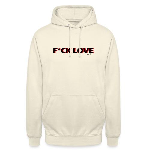 f*ck love - Hoodie unisex