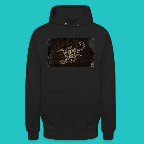 skorpion_grafika-jpg - Bluza z kapturem typu unisex