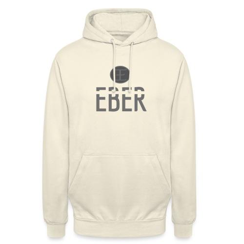 EBER: T-Shirt - White - Luvtröja unisex
