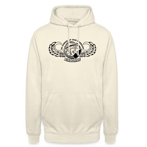 HAF tshirt back2015 - Unisex Hoodie