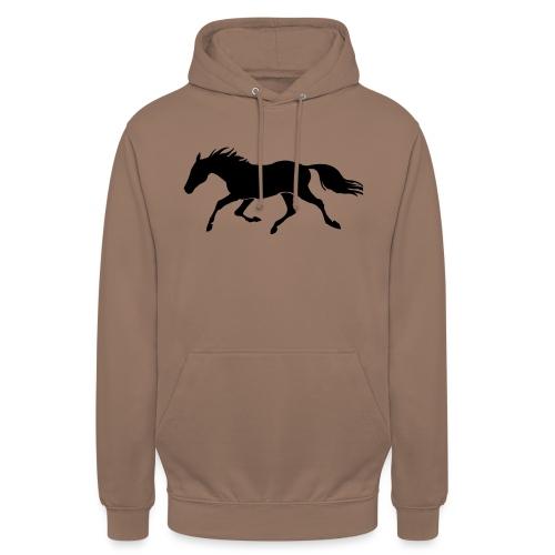 Cavallo - Felpa con cappuccio unisex
