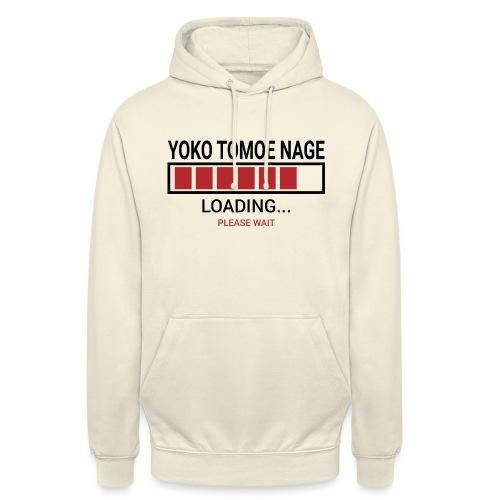 Yoko Tomoe Nage Loading... Pleas Wait - Bluza z kapturem typu unisex